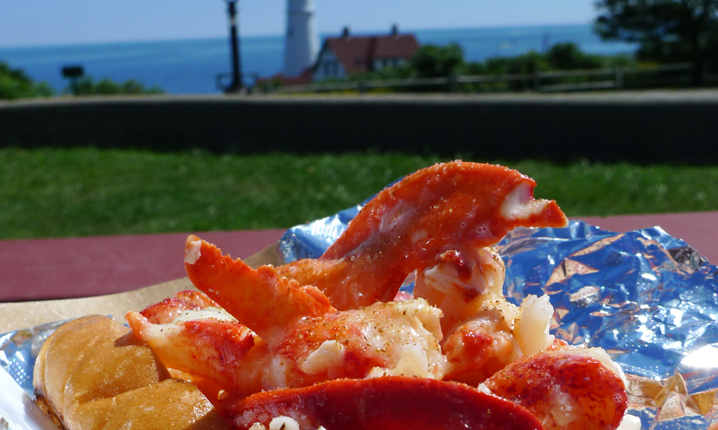 Lobster roll. Photo Provided by Bite Into Maine