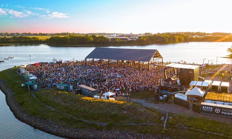 Outdoor Concert. Photo Provided by Thompson's point