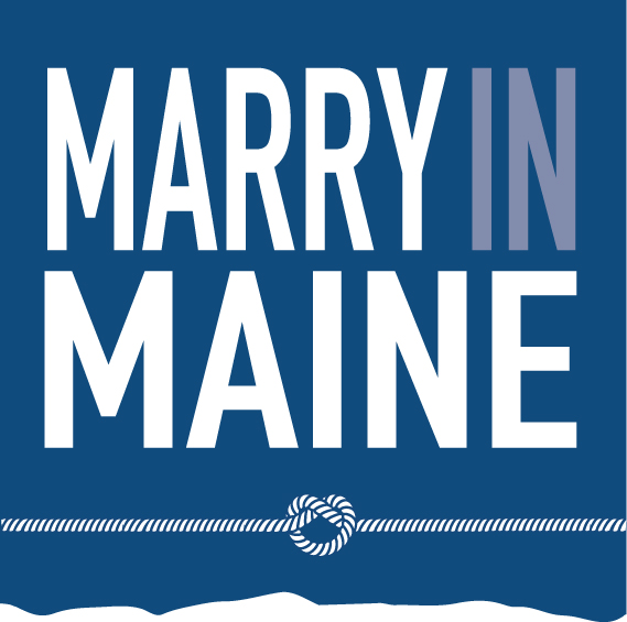 official logo for marry in maine