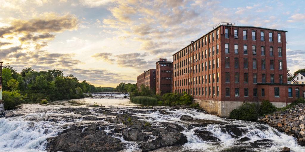 Falls Mills Daytime Westbrook, Photo Credit: Cynthia Farr-Weinfeld