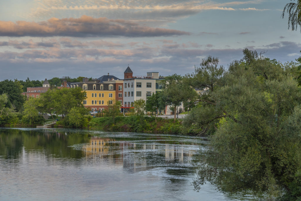 westbrook riverfront skyline