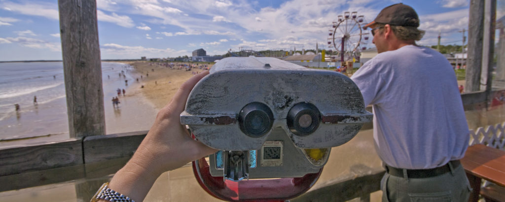 Old Orchard Beach Viewfinder, Photo Credit: Cynthia Farr-Weinfeld