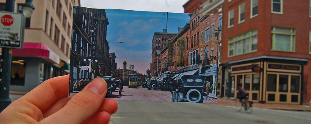 historic portland street
