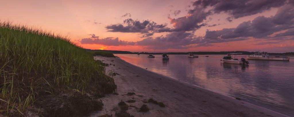 Pine Point Sunrise Beach, Photo Credit: CFW Photography