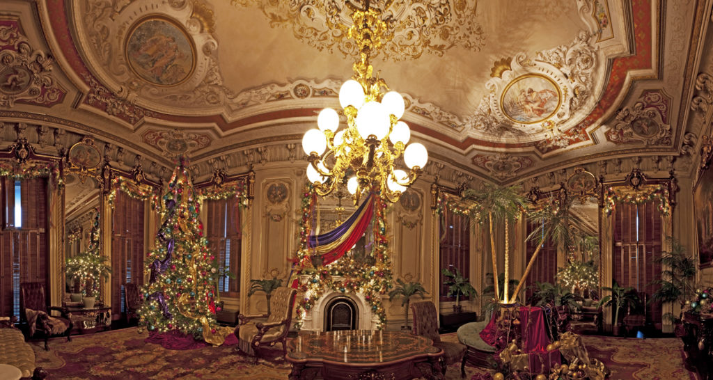Victoria Mansion Decorated For the Holidays, Photo Credit: Cynthia Farr-Weinfeld