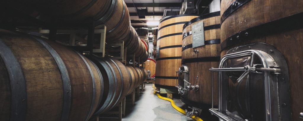 Barrel Room, Image Courtesy of: Allagash Brewing