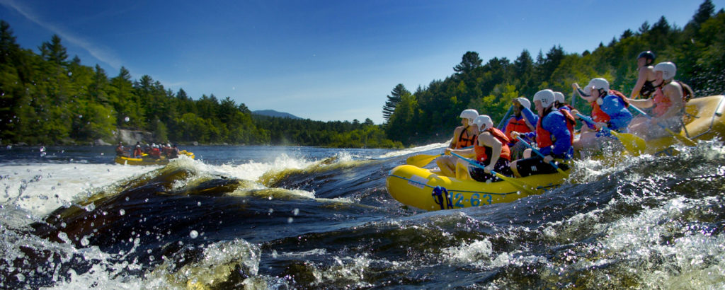 Whitewater Rafting in the Forks, Photo Credit: Northern Outdoors