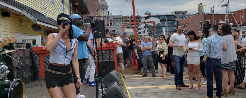 Concert Outside Porthole, Photo Credit: Amy Tolk