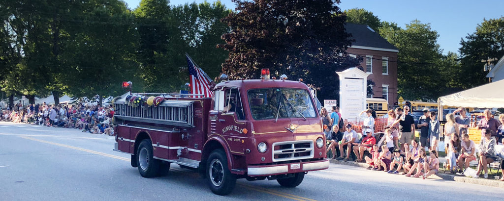 Yarmouth Clam Festival Parade Firetruck, Photo Credit: wikimedia commons, NewTestLeper79