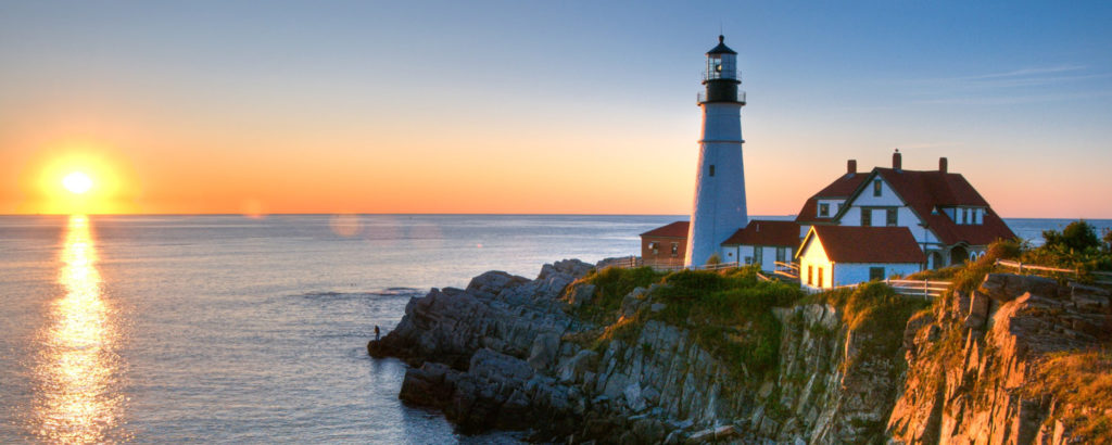 Portland Head Light with Waves, Photo Credit: CFW Photography