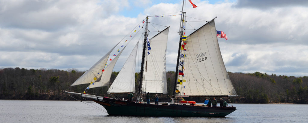 Maine Maritime Museum Tall Ship, Photo Credit: Maine Maritime Museum