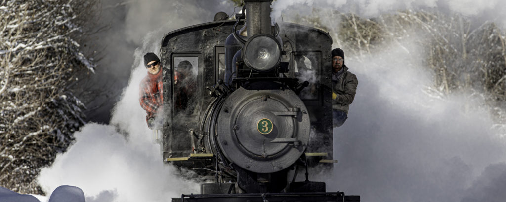 Polar Express 2020, Photo Credit: John Collins via Carnaval Maine