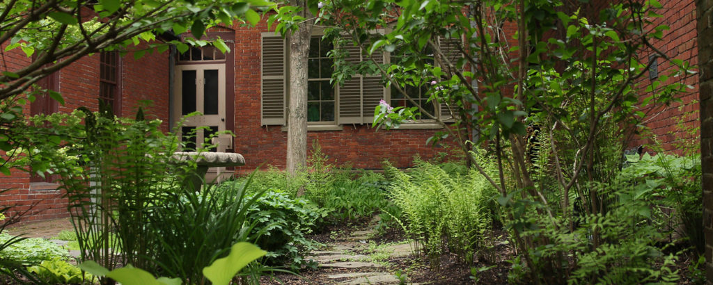 Longfellow Gardens, Photo Courtesy of Maine Historical Society