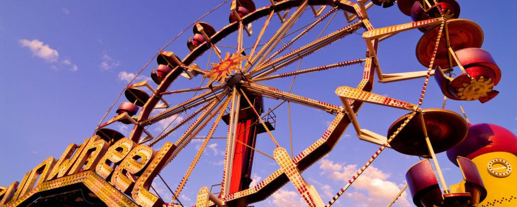 Palace Playland ferris Wheel: Photo Credit: CFW Photography