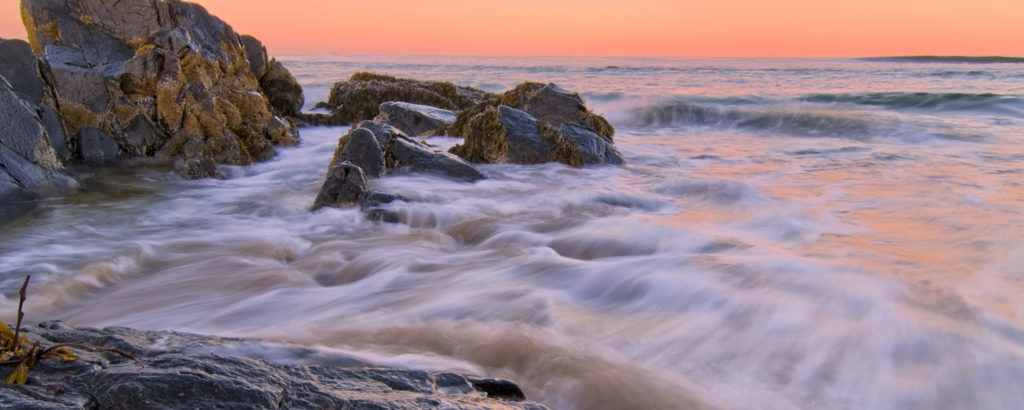 Beach Waves and Boulders, Photo Credit: CFW Photography