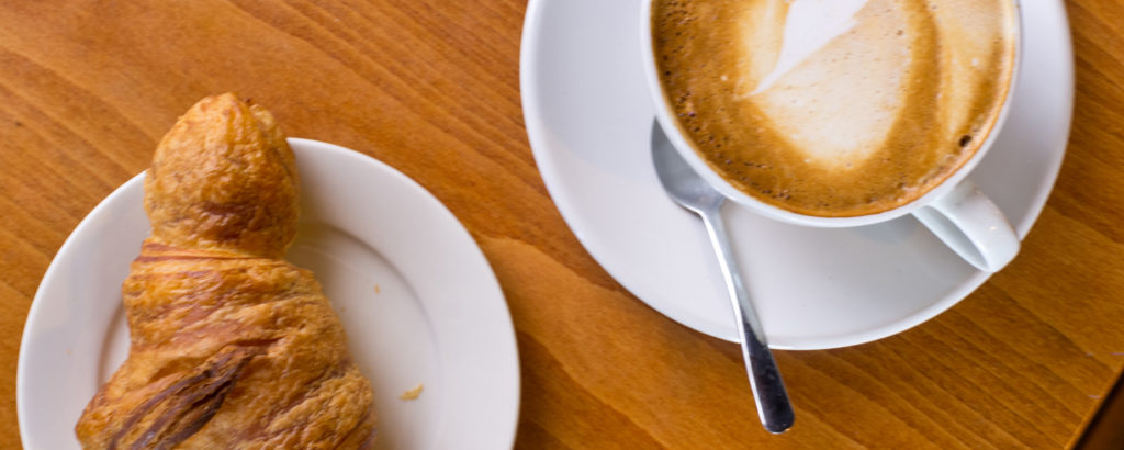 Breakfast Croissant and Coffee, Photo Credit: CFW Photography