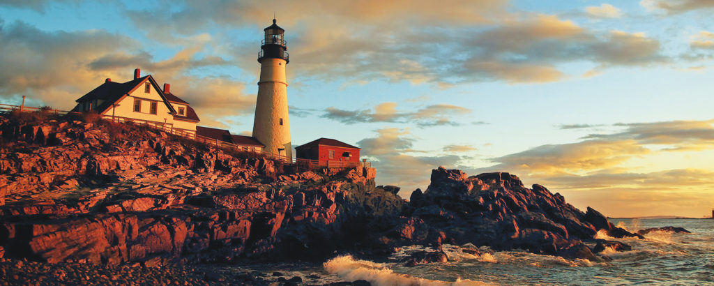 Portland Head Light Sunset, Photo Credit: CFW Photography
