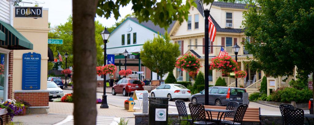 Kennebunk Square, Photo Credit: Tourism Media
