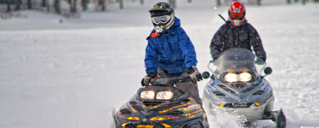 Snowmobiling, Photo Credit: CFW Photography