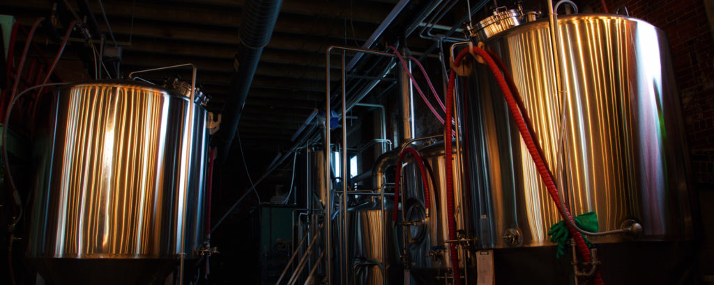 Maine Barrel Room in Brewery, Photo Credit: Capshore Photography