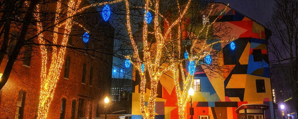 Pandora's Winter Lights, Photo Credit: Capshore Photography