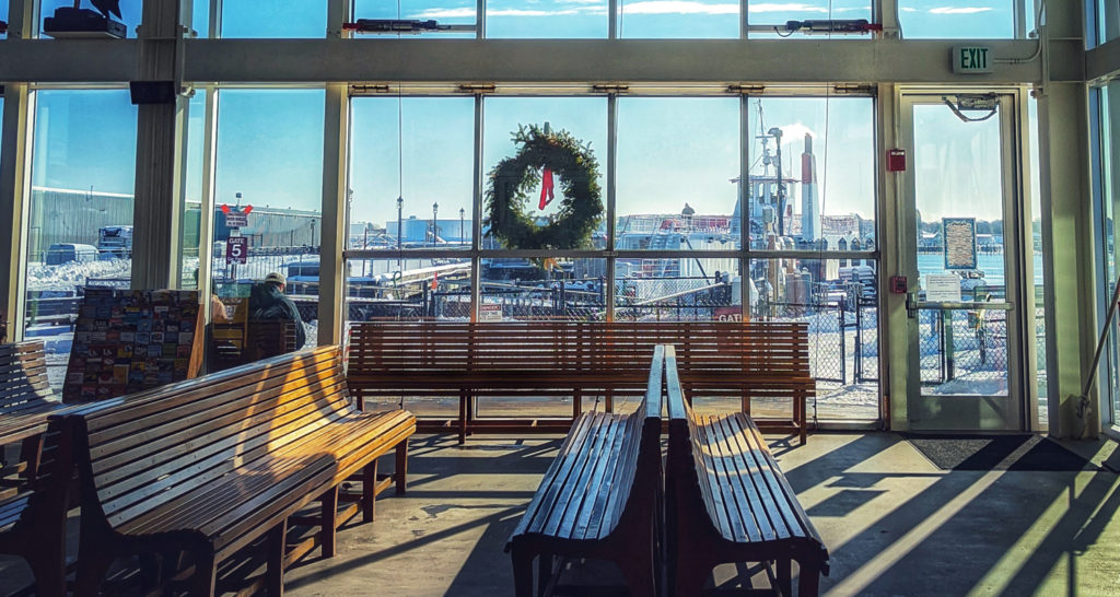 Casco Bay Lines Ferry Terminal, Photo Credit: Capshore Photography
