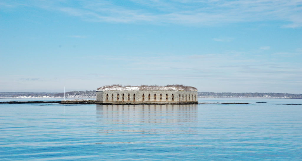 Fort Gorges, Cas Lines, Photo Credit: Capshore Photography