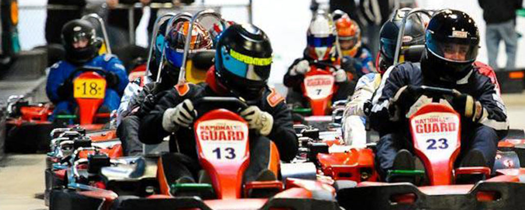 Indoor Karting, Photo Courtesy of Maine Indoor Karting