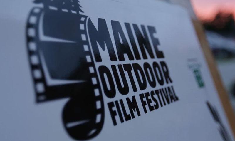 Logo on Board, Photo Courtesy of Maine Outdoor Film Festival