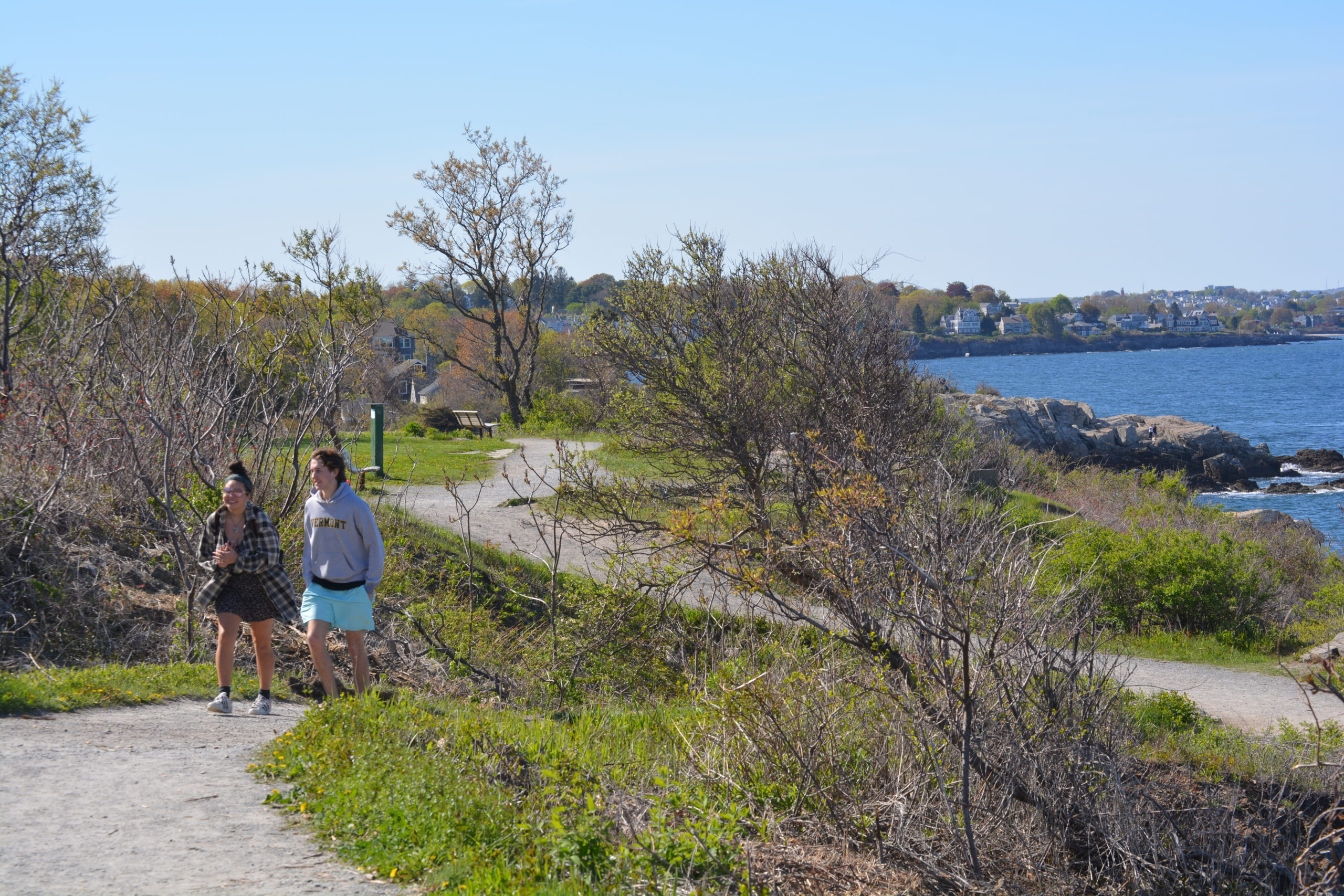 Walking by Ocean, Photo Credit Amy Tolk