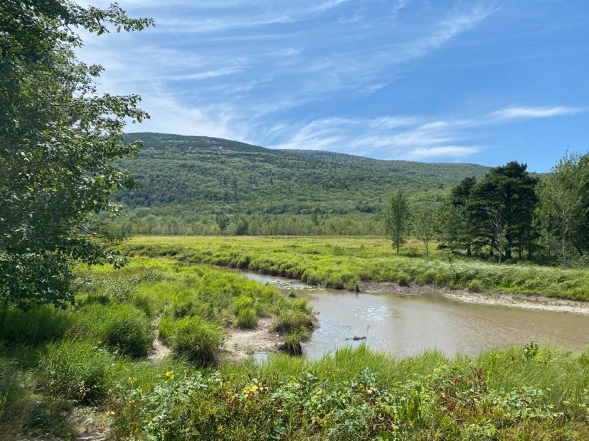 Acadia National Park Stream, Carriage Trails, Photo by Visit Portland