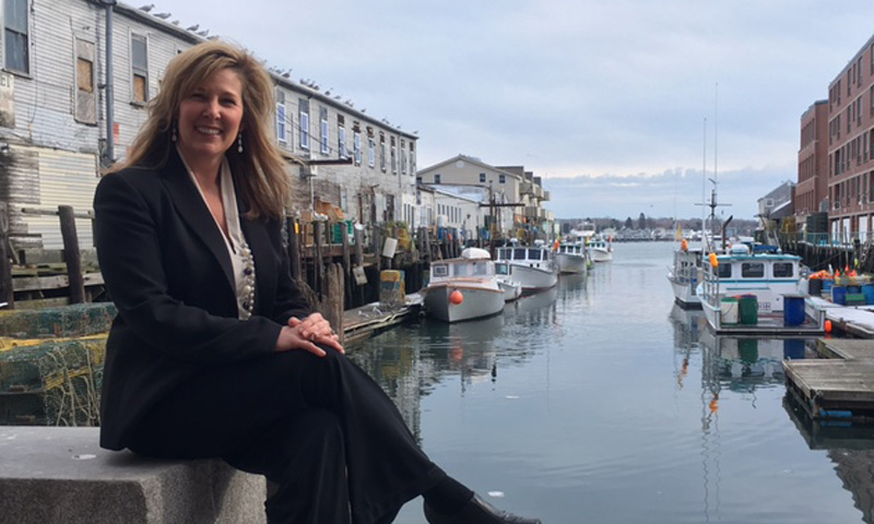 Headshot of Lynn Tillotson, Photo Credit: Robert Witkowski, Visit Portland