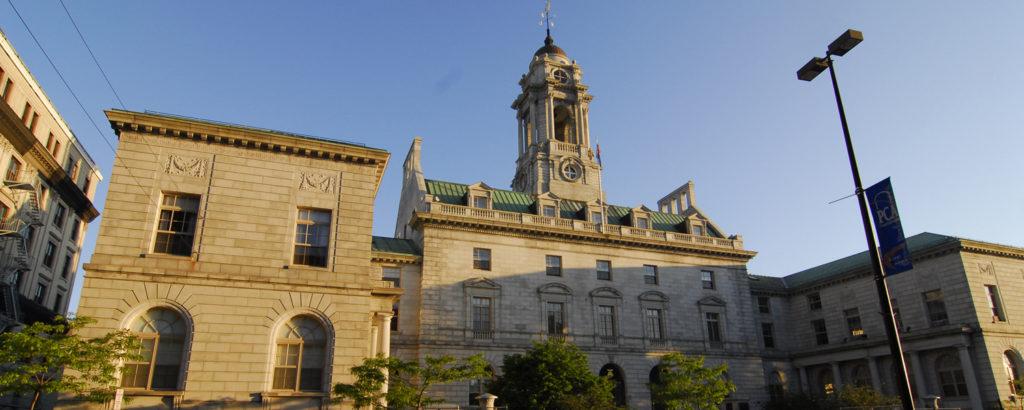 City Hall Exterior, Photo Credit: Chris Lawrence