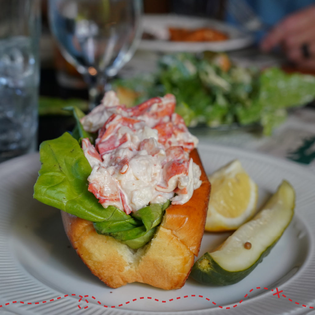 Lobster Done Local, Lobster Roll - Photo Credit: Kirsten Alana Photography