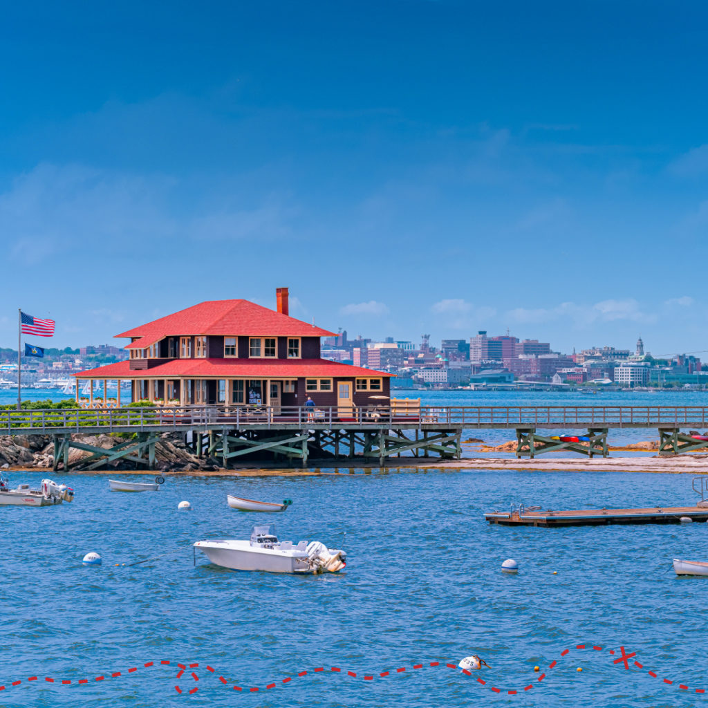 Wander East Casco Bay with Cityscape, Photography by: PGM Photography