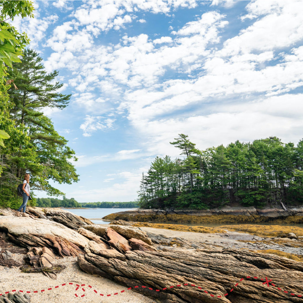 Wander North Wolfe's Neck State Park, Photography by: Kirsten Alana photography