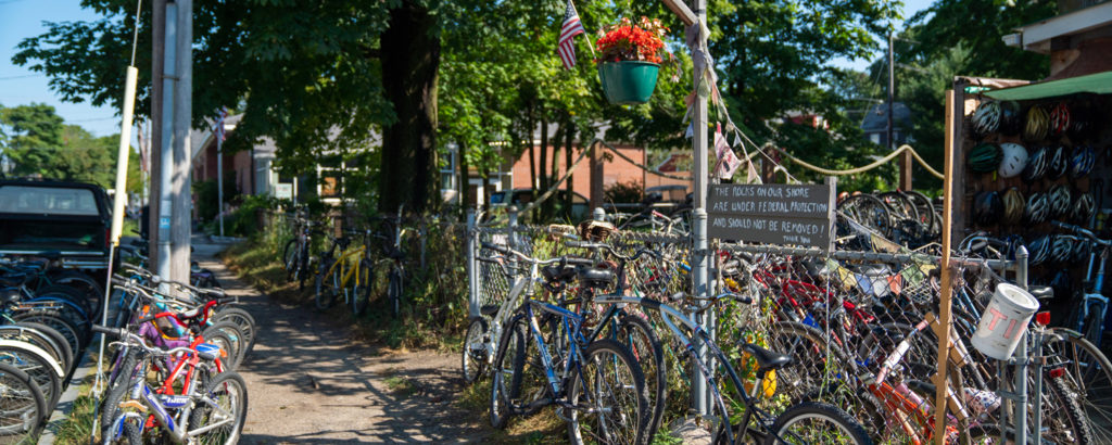 Bike Tours on Peaks Island, Photo Credit: Kirsten Alana Photography