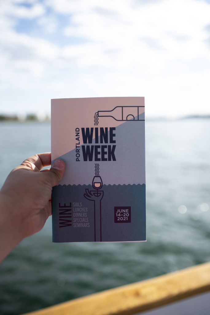 Portland Wine Week Flyer, Photo Credit: Capshore Photography