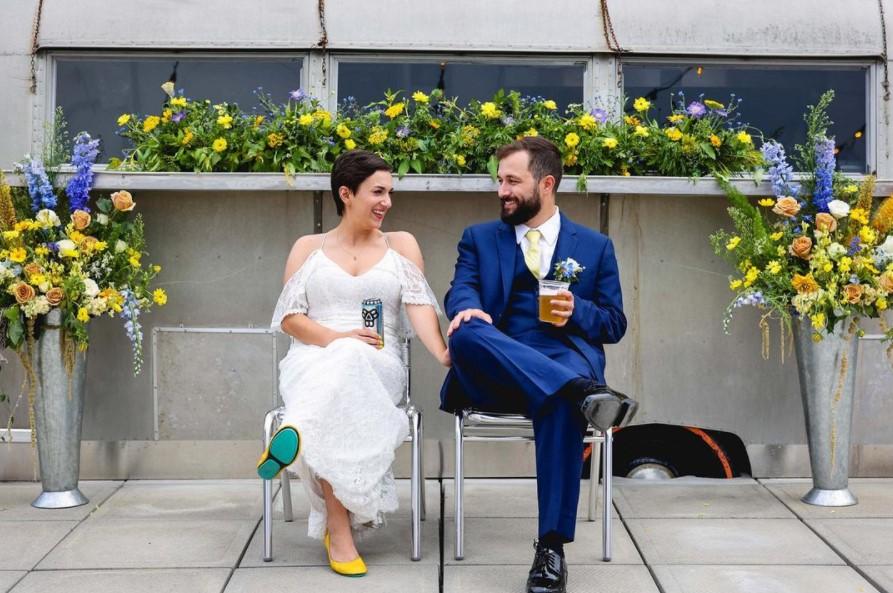 Bayside Bowl Wedding, Photo Provided by Elizabeth Joyce / Credit: @yeahbudphoto