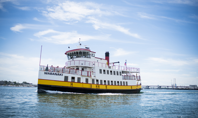 Casco Bay Lines Ferry. Photo Credit: Capshore Photography