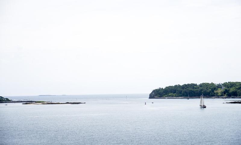 View of Casco Bay. Photo Credit: Capshore Photography