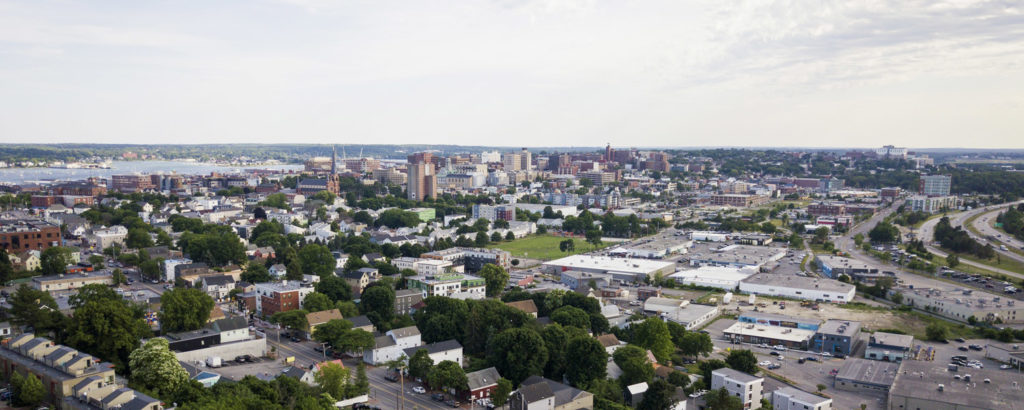 View of Portland. Photo Credit: Capshore Photography
