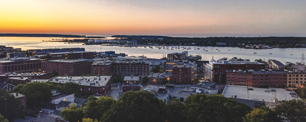 View from top of Holiday Inn by the Bay. Photo Credit: Capshore Photography
