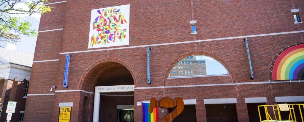 Exterior of Portland Museum of Art. Photo Credit: Capshore Photography