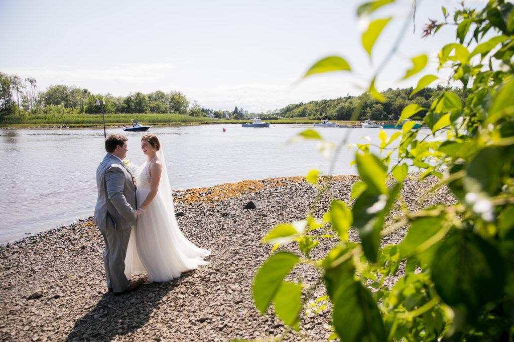 Wedding Couple at Nonatum. Photo Provided by Christine Zambernardi / Photo Credit: Nadra Photography