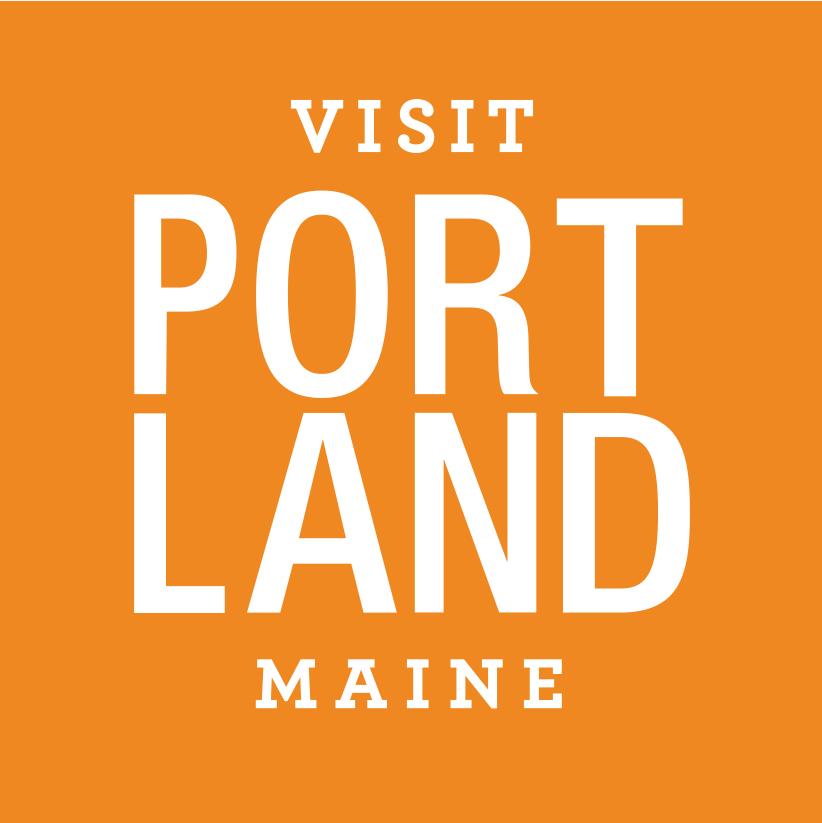 Visit Portland - Orange Tag, Meet in Maine - Logo