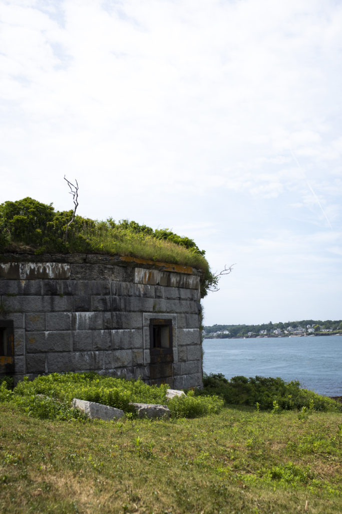 Fort Gorges on Casco Bay, Photo Credit: Capshore Photography